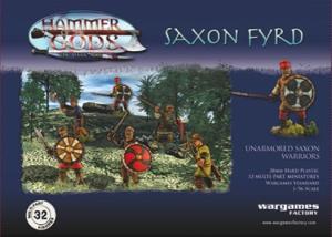 Saxon Fyrd da Wargames Factory