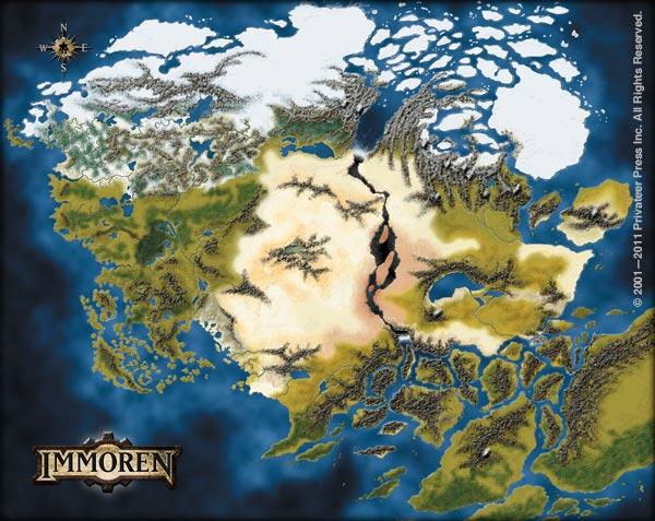 Mapa de Immoren