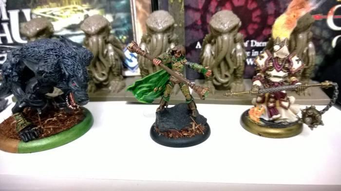 Feral Warpwolf e Algumas outras miniaturas